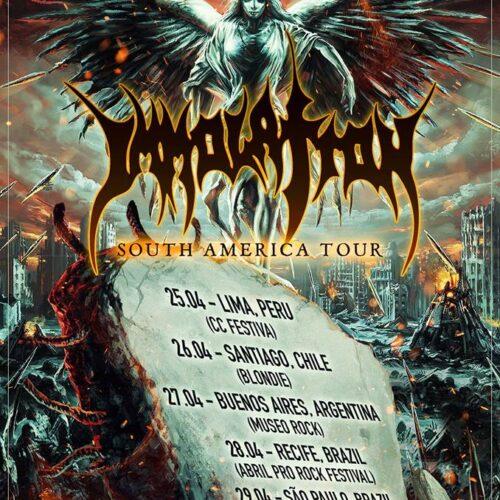 Immolation Tour